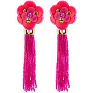 Kate Spade Floral Tassel Earrings